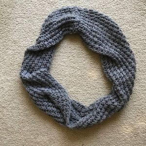 Accessories - Gray Knit Circle Scarf - One Size